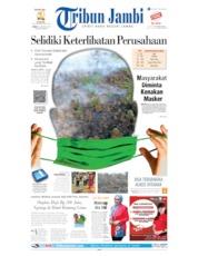 Cover Tribun Jambi 09 Agustus 2019