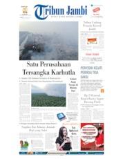 Cover Tribun Jambi 10 Agustus 2019