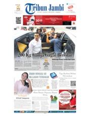 Cover Tribun Jambi 13 Agustus 2019