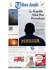 Cover Tribun Jambi 14 Agustus 2019