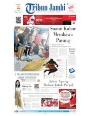 Cover Tribun Jambi 15 Agustus 2019