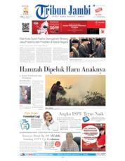Cover Tribun Jambi 16 Agustus 2019