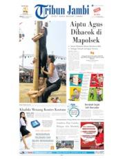 Cover Tribun Jambi 18 Agustus 2019
