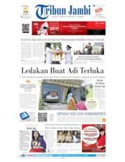 Cover Tribun Jambi 19 Agustus 2019