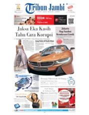 Tribun Jambi Cover 21 August 2019