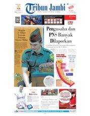 Tribun Jambi Cover 23 August 2019