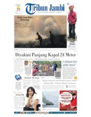 Cover Tribun Jambi 24 Agustus 2019