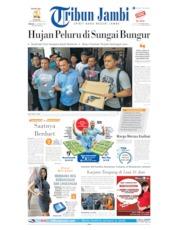 Cover Tribun Jambi 25 Agustus 2019