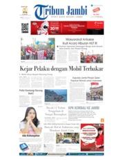 Cover Tribun Jambi 26 Agustus 2019