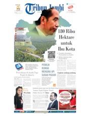 Cover Tribun Jambi 27 Agustus 2019