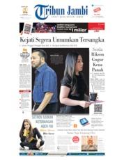 Cover Tribun Jambi 29 Agustus 2019