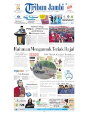 Tribun Jambi Cover 10 September 2019