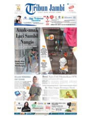 Tribun Jambi Cover 15 September 2019