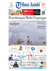 Cover Tribun Jambi 16 September 2019