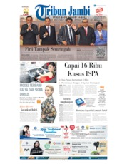 Cover Tribun Jambi 17 September 2019