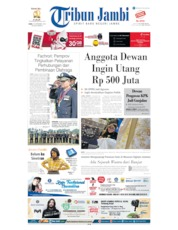 Cover Tribun Jambi 18 September 2019
