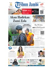 Tribun Jambi Cover 04 October 2019