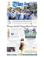 Tribun Jambi Cover
