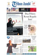 Tribun Jambi Cover 07 October 2019