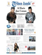 Tribun Jambi Cover 08 October 2019