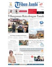 Tribun Jambi Cover 09 October 2019