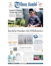 Tribun Jambi Cover 10 October 2019