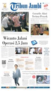Tribun Jambi Cover 11 October 2019