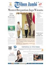 Cover Tribun Jambi 12 Oktober 2019