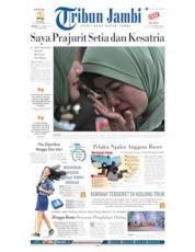 Cover Tribun Jambi 13 Oktober 2019