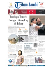 Tribun Jambi Cover 14 October 2019