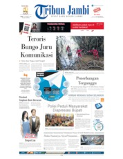 Tribun Jambi Cover 16 October 2019