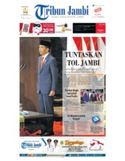 Tribun Jambi Cover 21 October 2019