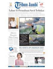 Tribun Jambi Cover 23 October 2019