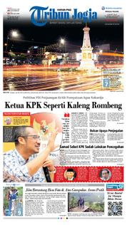 Tribun Jogja Cover 18 March 2018