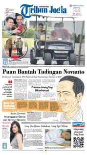 Cover Tribun Jogja 24 Maret 2018
