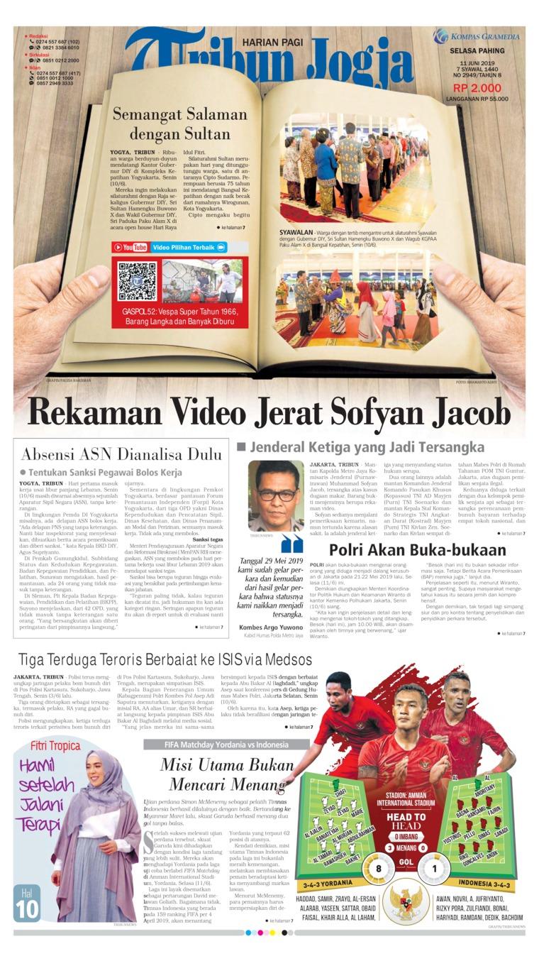 Koran Digital Tribun Jogja 11 Juni 2019