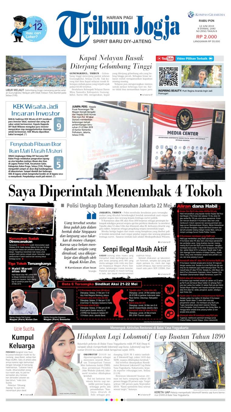 Tribun Jogja Digital Newspaper 12 June 2019