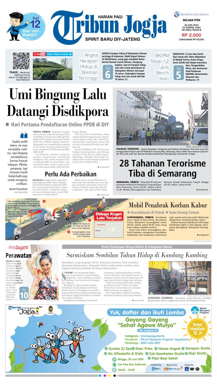 Koran Digital Tribun Jogja 25 Juni 2019