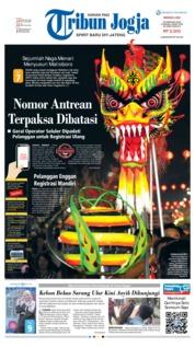 Tribun Jogja Cover 25 February 2018