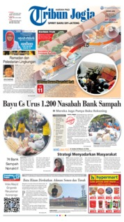 Cover Tribun Jogja 21 Mei 2018