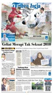 Tribun Jogja Cover 26 May 2018