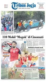 Cover Tribun Jogja 19 Juni 2018