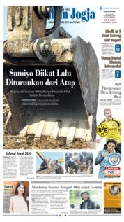 Cover Tribun Jogja 21 Juli 2018