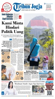 Cover Tribun Jogja 14 Agustus 2018