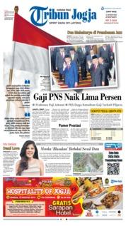 Cover Tribun Jogja 17 Agustus 2018