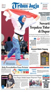 Cover Tribun Jogja 20 Agustus 2018