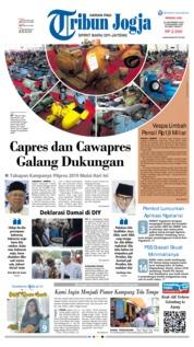 Cover Tribun Jogja 23 September 2018