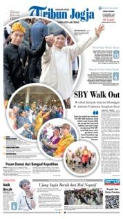 Cover Tribun Jogja 24 September 2018