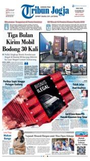 Cover Tribun Jogja 26 September 2018