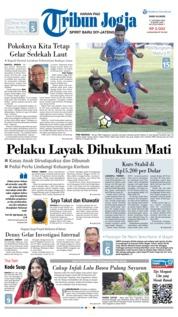 Cover Tribun Jogja 17 Oktober 2018